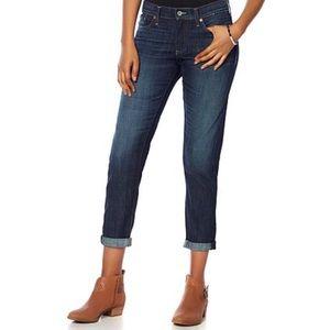 Lucky Brand Dark Wash Sienna Cigarette Jeans
